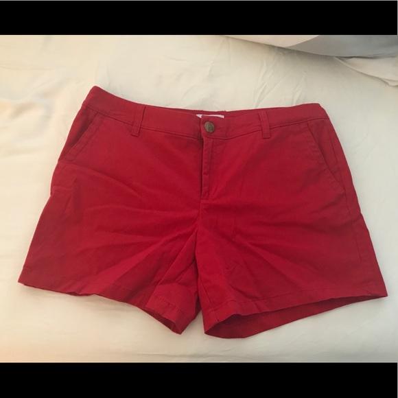 Liz Claiborne Pants - Liz Claiborne red shorts sized 12